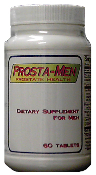 Promotes Prostate Health and Urinary functions