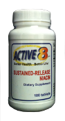 Niacin - Sustained Release 500 mg Flush Free