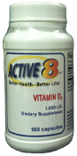 High Potency Vitamin D3 - 1000 IU