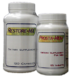 Great price when you order both Restore-MX and Prosta-Men!